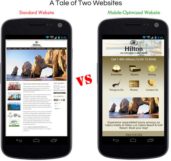 how to build a mobile optimized website